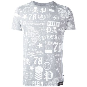 Philipp Plein - So Black Tシャツ - men - コットン - M