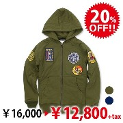 [Final Sale]RS PATCHキルティングパーカ