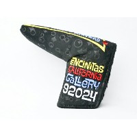 スコッティキャメロン CALIFORNIA PEACE SURFER SUEDE BLACK ENCINITAS Headcover