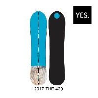 2017 YES イエス スノーボード SNOWBOARD THE 420 148