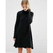 ASOS エイソス Knit Tunic Dress ドレス ワンピース in Cashmere Mix