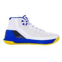 """Under Armour Curry 3 """"DUB NATION""""キッズ/レディース White/Ultra Blue/Ultra Blue アンダーアーマー バッシュ カリー3 Stephen Curry..."""