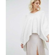 Gat Rimon Tutu Long Sleeve Knitted Poncho