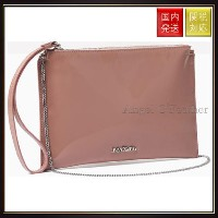 【MAX Co】Leather clutch with zip MJCLUTCH Pink Max Co.(マックス コー) バイマ BUYMA