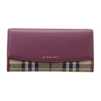 BURBERRY 4024992 50140 DARK PLUM 長財布 Burberry(バーバリー) バイマ BUYMA