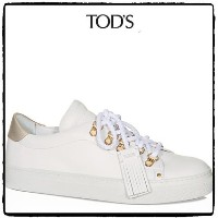 16-17AW 国内発 TOD'S SNEAKER LEATHER スニーカー TOD'S(トッズ) バイマ BUYMA