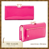 TED BAKER【テッドベイカー】鮮やかピンクの長財布♪ TED BAKER(テッドベイカー ) バイマ BUYMA