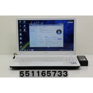 NEC PC-LS150CS1KW Celeron 2GHz/4GB/320GB/Multi/15.6W/Win7 【中古】【20161209】