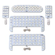 YOURS(ユアーズ) トヨタ エスクァイア ESQUIRE ZRR80 ZRR85 ZWR80 【FLUX】 専用設計 LED ルームランプセット 【専用工具付】 【1年保証】