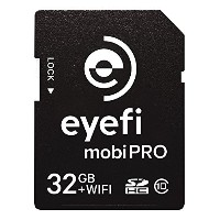 Eyefi Mobi Pro 32GB WiFi SDHC CARD + 1 year Eyefi Cloud [並行輸入品]