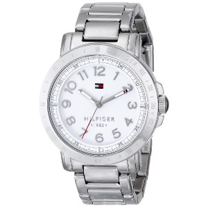 Tommy Hilfiger Women's 38mm Silver Steel Bracelet & Case Quartz Watch 1781397