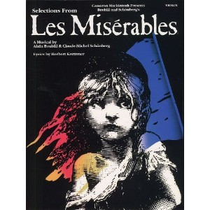 Selections From Les Miserables For Violin. Partitions pour Violon