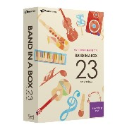 PG Music Band-in-a-Box 23 for Windows EverythingPAK
