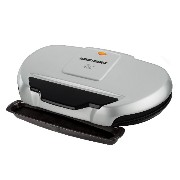 George Foreman ジョージフォアマン GR144 144-Square-Inch Nonstick Family-Size Grill, Silver グリル [並行輸入]