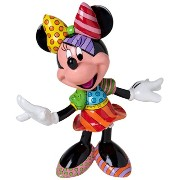 Disney by Britto from Enesco Minnie Mouse Figurine 7.75 IN/ロメロブリット/ディズニー/ミニーマウス/フィギュア/[並行輸入品]