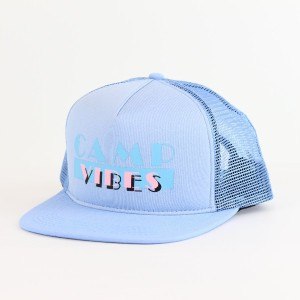 POLeR(ポーラー) MIAMI CAMP VIBES MESH TRUCKER 615027 LBU ONE