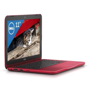 Dell ノートパソコン Inspiron 11 Celeron Officeモデル レッド 17Q31HBR/Windows10/Office H&B/11.6インチ/4GB/32GB