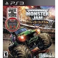 Monster Jam: Path of Destruction with Grave Digger Wheel (輸入版:北米) PS3