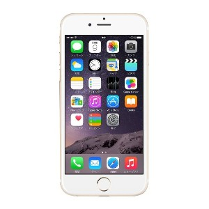 Apple au iPhone6 A1586 (MG4J2J/A) 64GB ゴールド