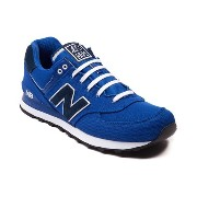 (ニューバランス) New Balance 靴・シューズ メンズスニーカー Mens New Balance 574 Athletic Shoe Royal/Navy Royal/Navy US 9...