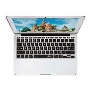 KB Covers ロシア語 QWERTY ISO キーボードカバー MacBook Air 11インチキーボード用 17658