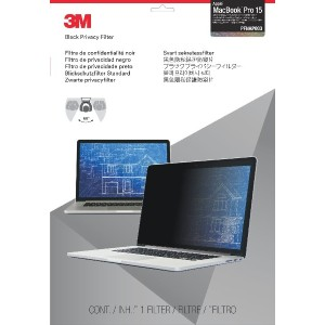 """3M - Notebook privacy filter - 15"""" - for Apple MacBook Pro with Retina display (15.4 in)"""