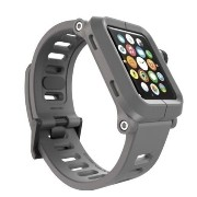 Lunatik - Epik Polycarbonate Case and Silicone Band for Apple WatchTM 42mm - Gray [並行輸入品]