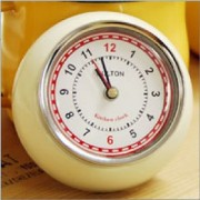 [DULTON]ダルトン KITCHEN CLOCK IVORY 100-193IV