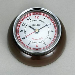 [DULTON]ダルトン KITCHEN CLOCK BROWN 100-193BR