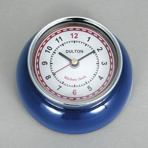 [DULTON]ダルトン KITCHEN CLOCK ROYAL BLUE 100-193BL