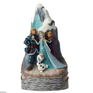 Disney Traditions Frozen Scene Carved by Heart [並行輸入品]