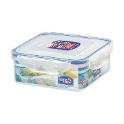 Lock&Lock 29-Fluid Ounce Square Food Container, Short, 3.6-Cup [並行輸入品]