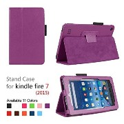 Fire 7 2015 折畳カバーケーススリム立っている for Amazon Kindle Fire 7 Tablet (7 inch Display - 5th Generation, 2015...