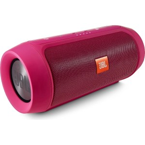 JBL CHARGE2+ Bluetoothスピーカー IPX5防水機能 ポータブル/ワイヤレス対応 ピンク CHARGE2PLUSPINKJN 【国内正規品】
