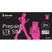 So-net Prepaid LTE SIM プラン12G ナノSIM