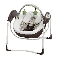 Graco Glider Lite LX Gliding Swing, Zuba by Graco