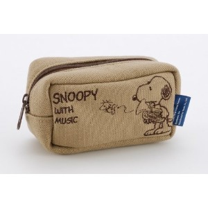 SNOOPY with Music マウスピースポーチ & クロスセット (ユーフォニアム)