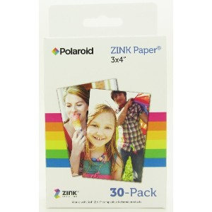 Polaroid ZINK Media 3 x 4 inch Photo Paper for Polaroid Z340 Camera and Polaroid GL10 Printer -...
