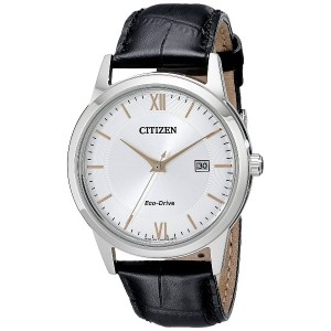 シチズン Citizen Eco-Drive Men's AW1236-03A Stainless Steel Watch [並行輸入品]