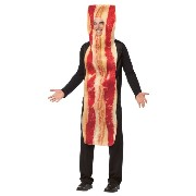 Bristol Novelty Red Bacon Adult Costume - Men's - One Size