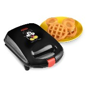 Disney DCM-9 Mickey Mini Waffle Maker, Black [並行輸入品]