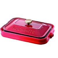 ROOMMATE 3WAY ホットプレート  EB-RM8600H レッド・EB-RM8600H・RED
