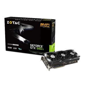 ZOTAC GTX 980 Ti AMP Extreme グラフィックスボード VD5749 ZTGTX98TI-6GD5EXT01