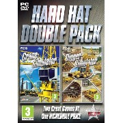 Hard Hat Double Pack - Crane and Digger Simulation (PC DVD) (輸入版)
