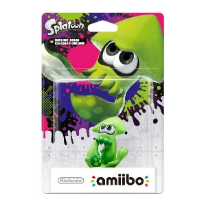 Amiibo Splatoon Squid (Nintendo Wii U/3DS) (輸入版)