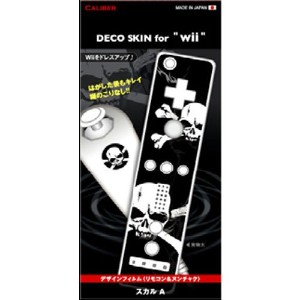 "DECO SKIN for ""Wii"" スカル A"