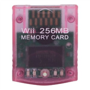 eForBuddy 256MB Memory Card for Nintendo Wii  任天堂 Wii 用256MB メモリーカード ホワイト