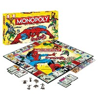 Spiderman Monopoly Board Game: Spiderman Monopoly