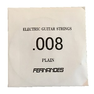 FERNANDES / Electric or Acoustic Plain .008 GS-008 エレキギター弦 バラ弦