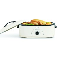 【並行輸入】Rival RO180 18-Quart Roaster Oven, White オーブン